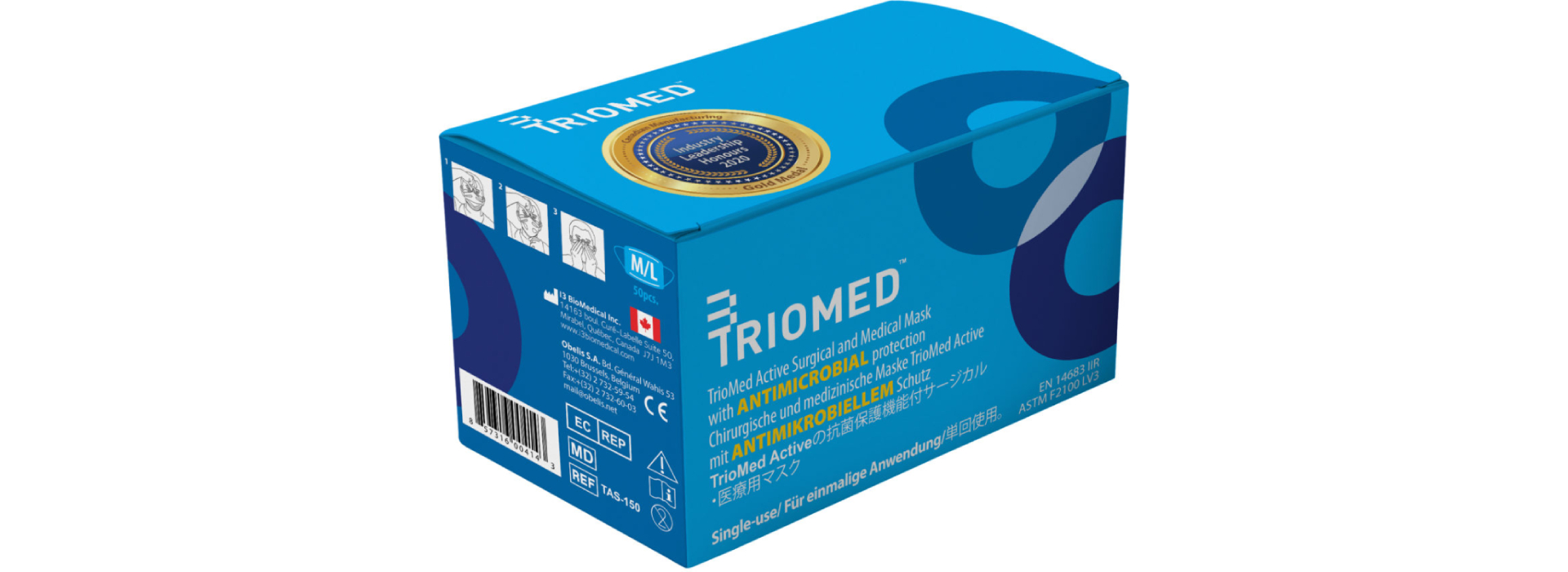 [Triomed active technology